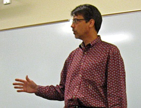 Prof. Dave Angelow of Texas State