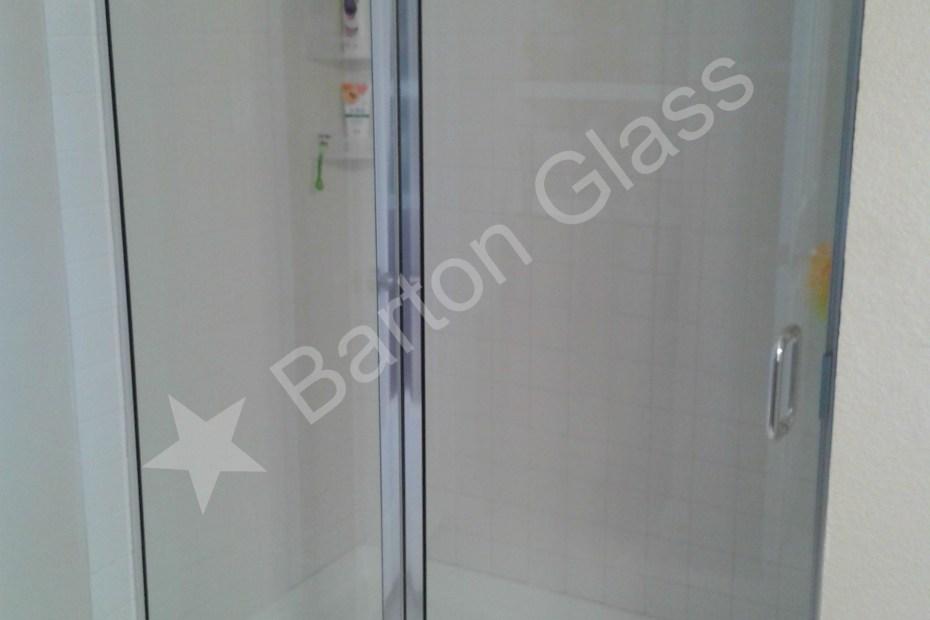 Semi-Frameless Shower Doors