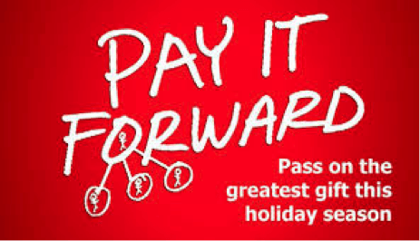 Paying it Forward Over the Holidays