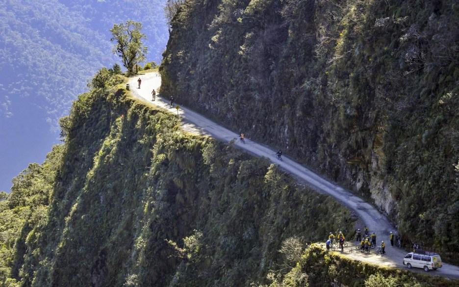 Barton Haynes The Death Road Bolivia