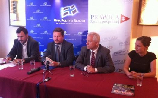 Olsztyn konferencja prasowa