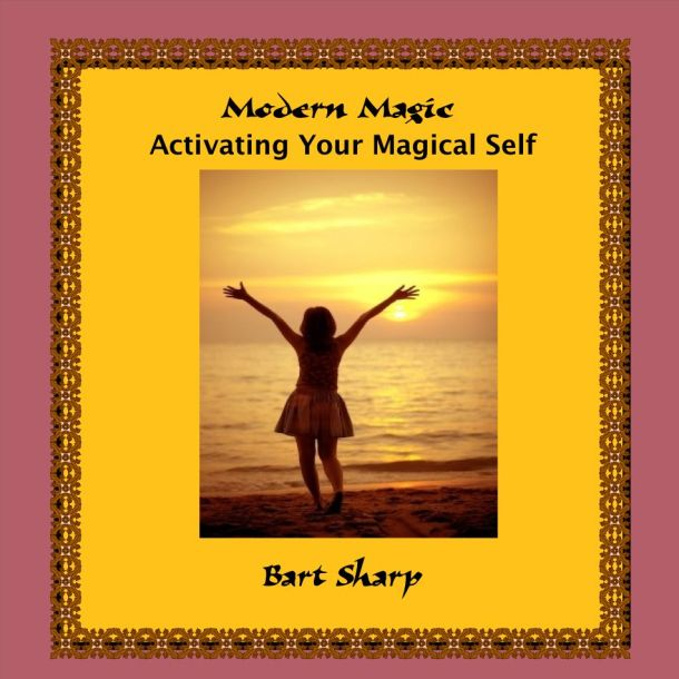 Activating Your Magical Self - Avery 8931 CD-DVD Inkjet Case Insert (cover)