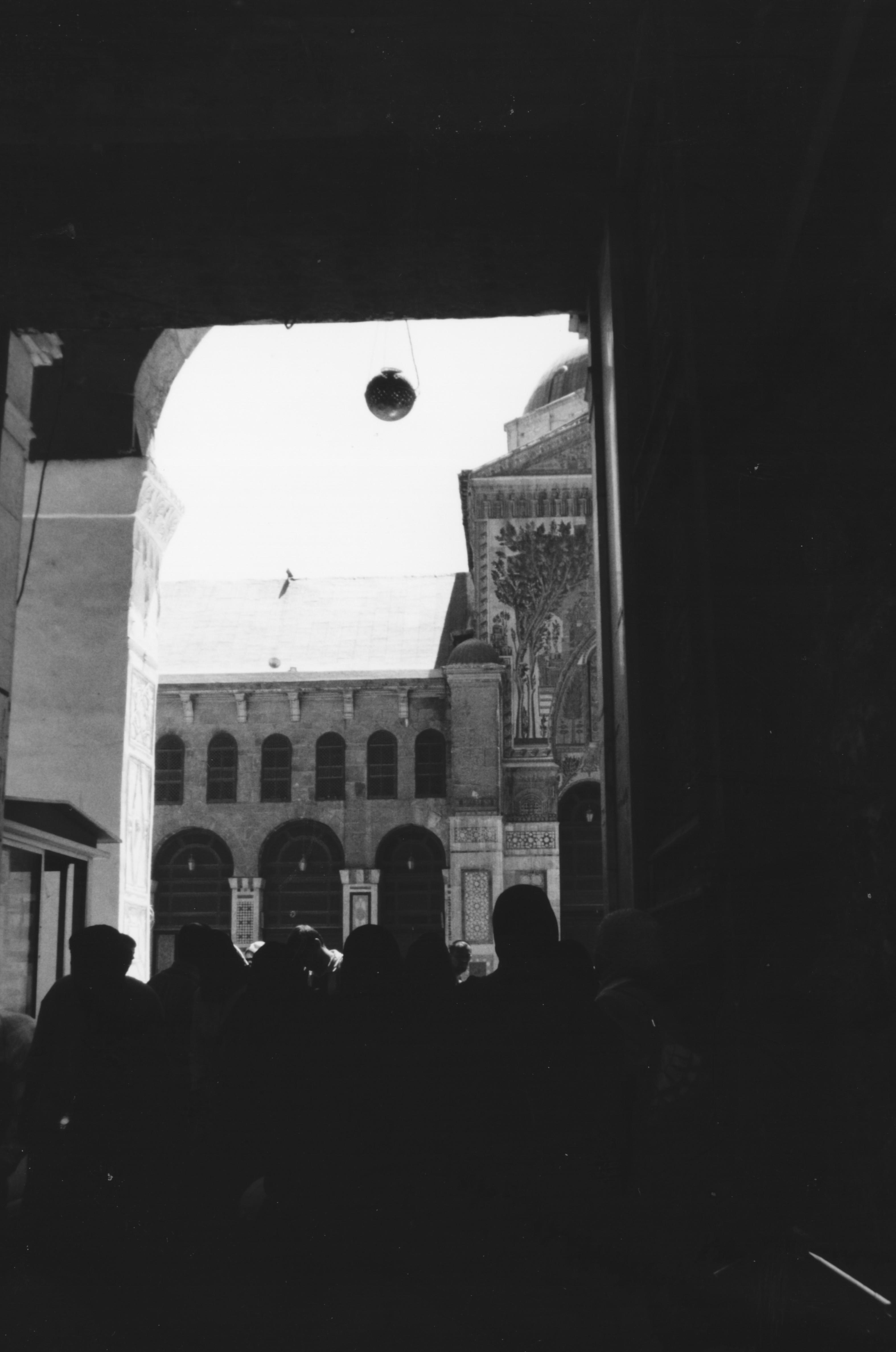Foto di Valentina Perniciaro  _Il portone d'ingresso della Moschea Omayyade di Damasco_