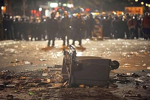 Gli scontri a Berlino per il 1° Maggio