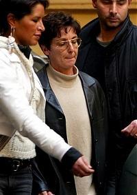 Rita Algranati il giorno del suo di rapimento