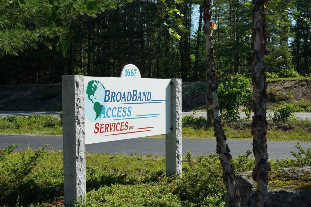 BroadBand Access Services Incorporated Office Sign Corporate