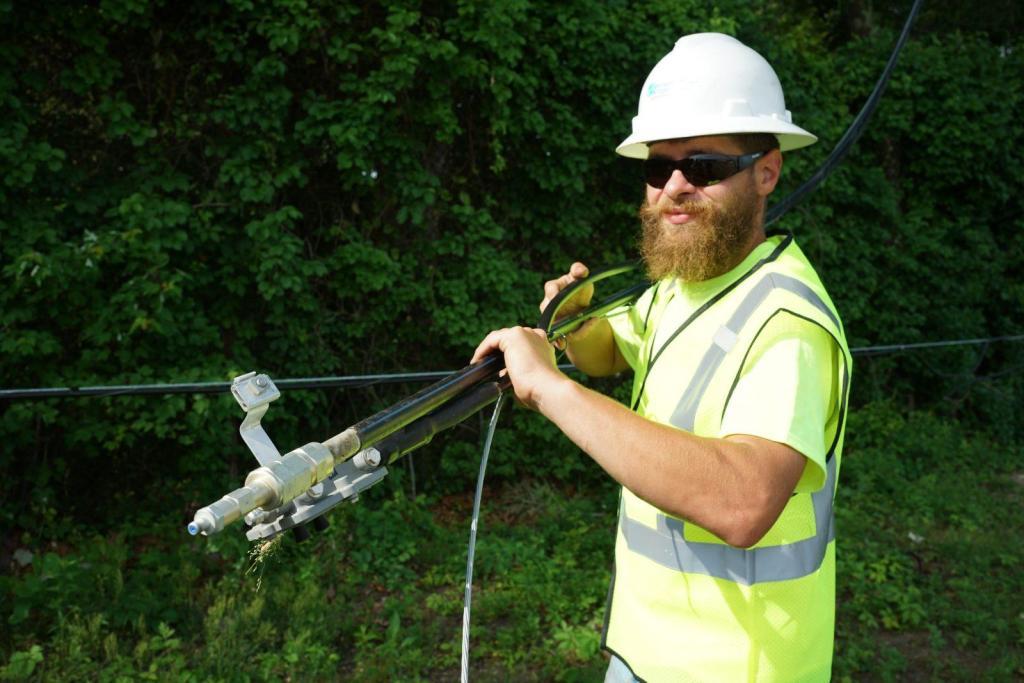 Coax Splicing Coaxial Foreman Construction BAS