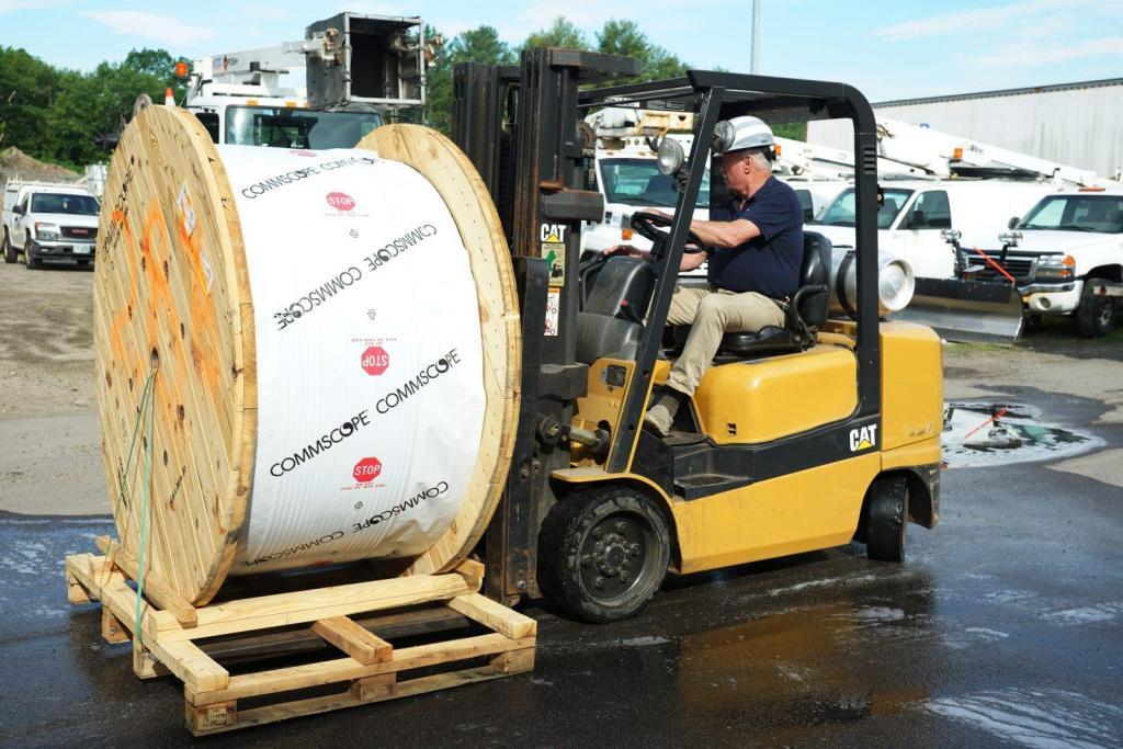 Forklift Director Operations Supplies Management Reels Tom