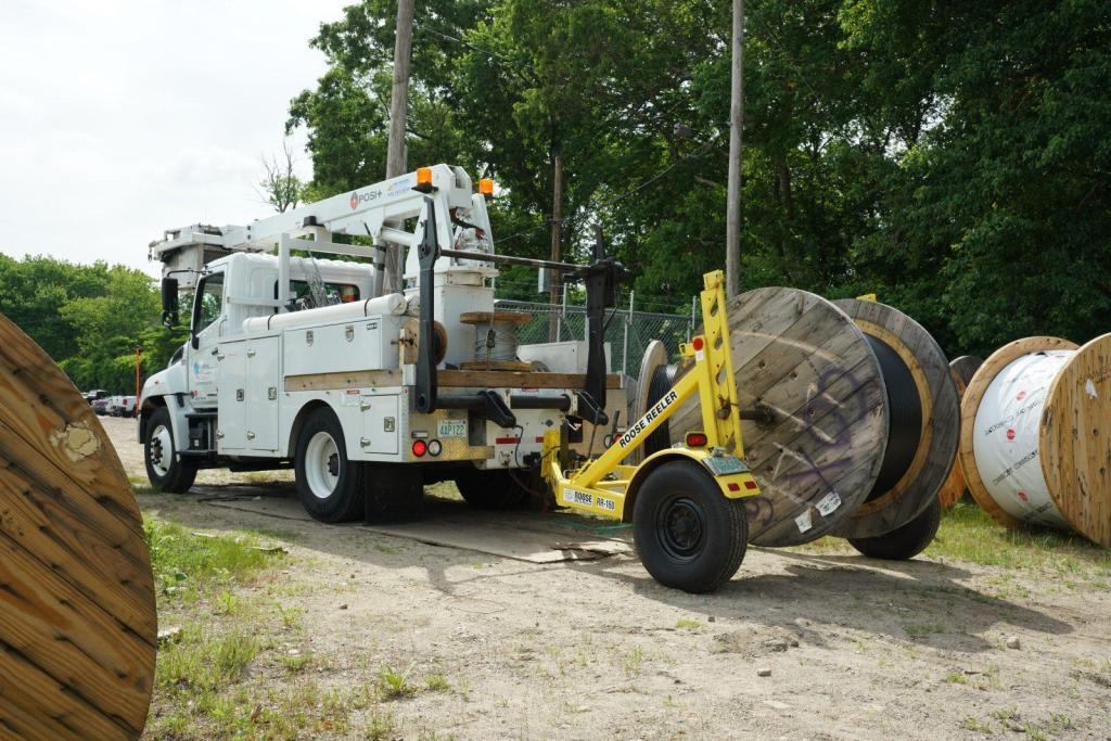 Roose Reeler Construction Project Coax Fiber Reel Vehicle