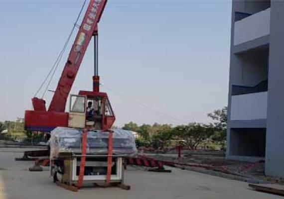 machinery loading unloading Bangladesh