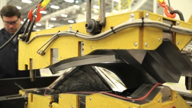 Photo of A new Safran Aerospace Composites plant, in Rochester