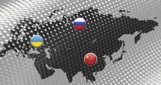 Russia and Ukraine are the largest producers of basalt fiber worldwide
