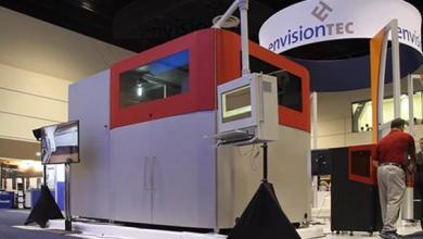 Photo of EnvisionTEC presented industrial 3D printer for the production of woven fiber composite parts