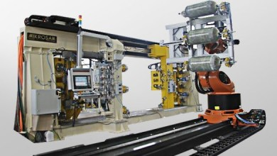 Photo of Mikrosam has installed a fully automated line for composite CNG tanks in the production facility