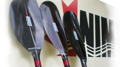 Photo of Canada-based manufacturer makes paddles from basalt fiber