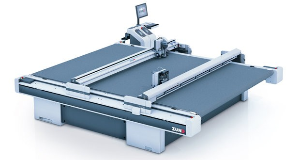 Zünd showcased new cutting system for composites