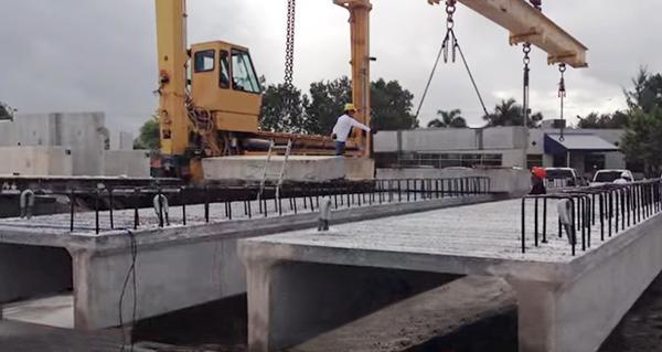 University of Miami awarded for its innovation bridge built using basalt rebar