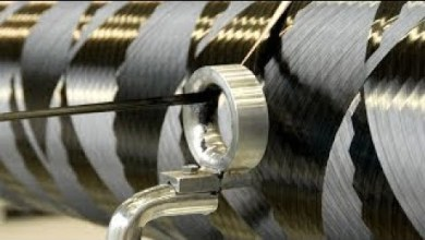 Photo of HYPNOTIC Video of Space Rocket Propellant Tanks Filament Winding Process by Interorbital S