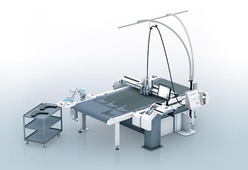 Automated cutting table specialist Zünd. Source: CompositesWorld.