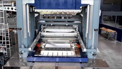 Photo of Molding press for thermoplastic composites