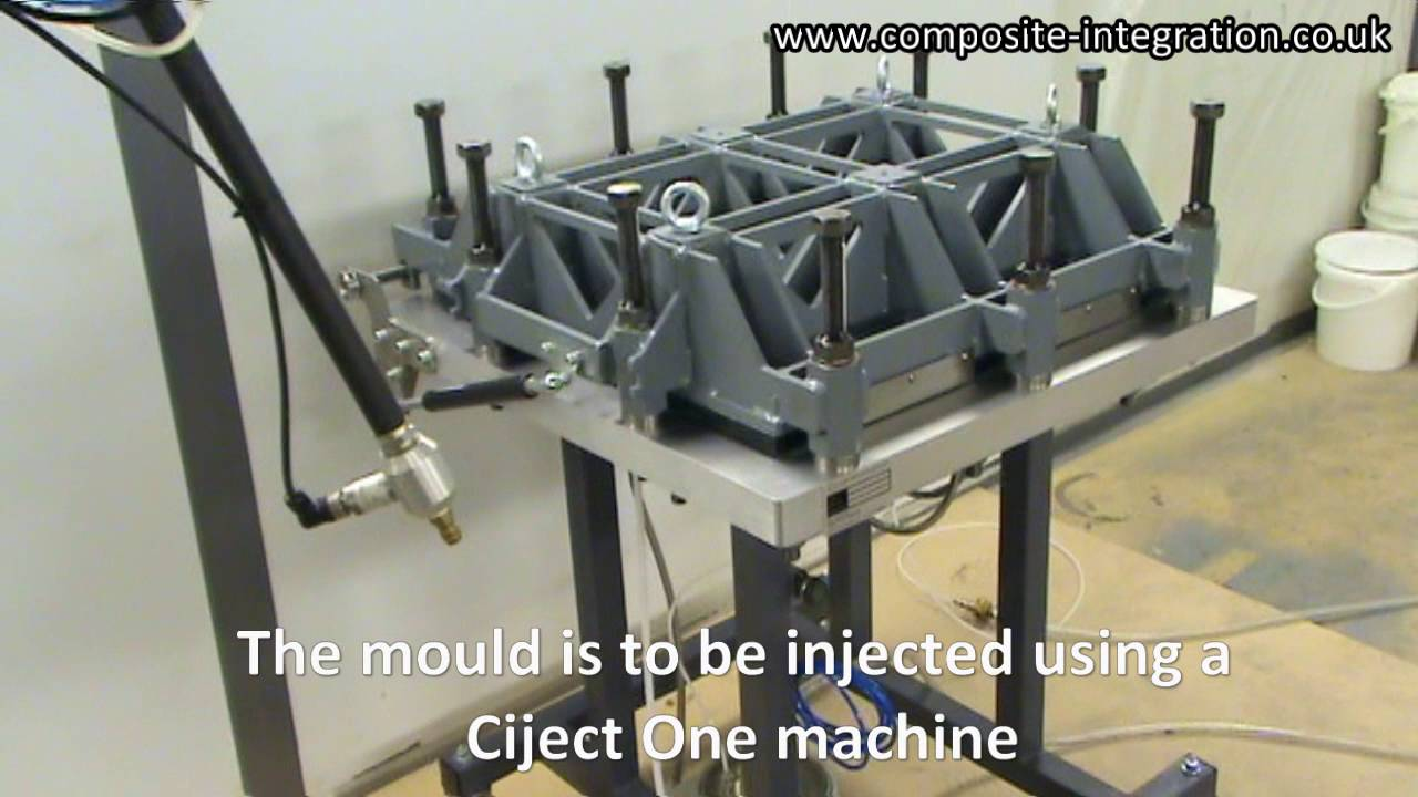 Betacryl Pure Acrylic Stone rtm test panel mould with variable cavity thickness | basalt