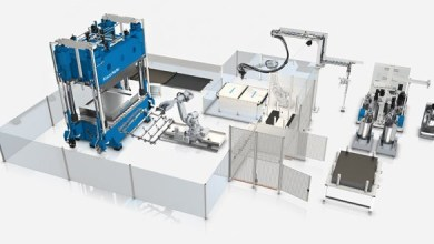 Photo of KraussMaffei presented fully automated wetmolding system
