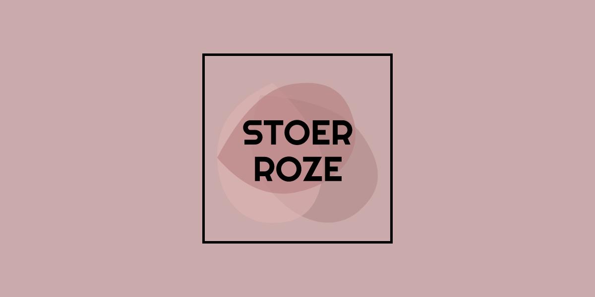 Stoer roze