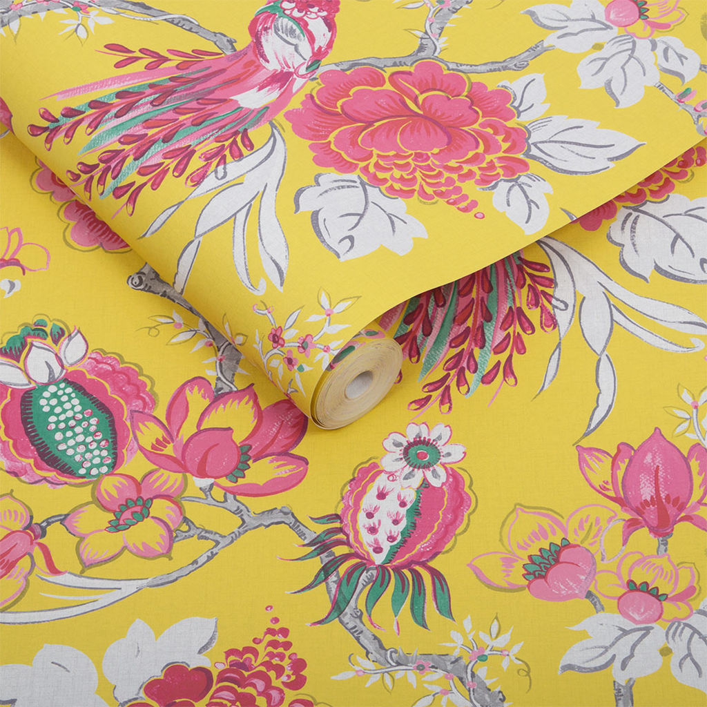 Chinoiserie Canary Behang van Graham & Brown