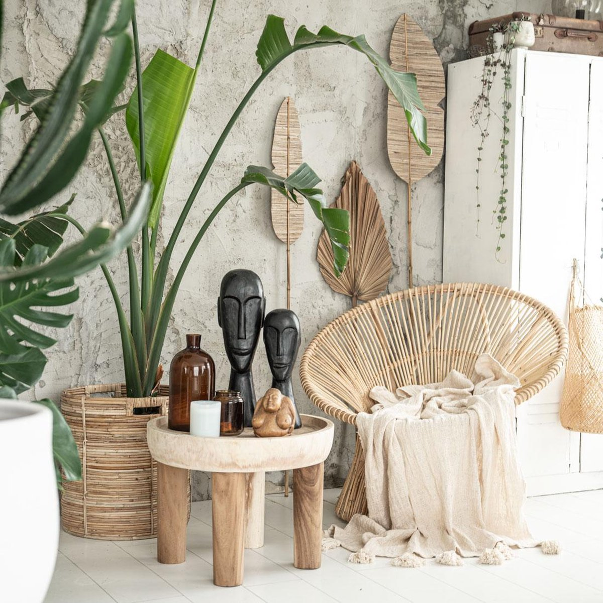 Rotan fauteuil Tribe