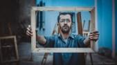 Toufik Hadibi, le peintre.
