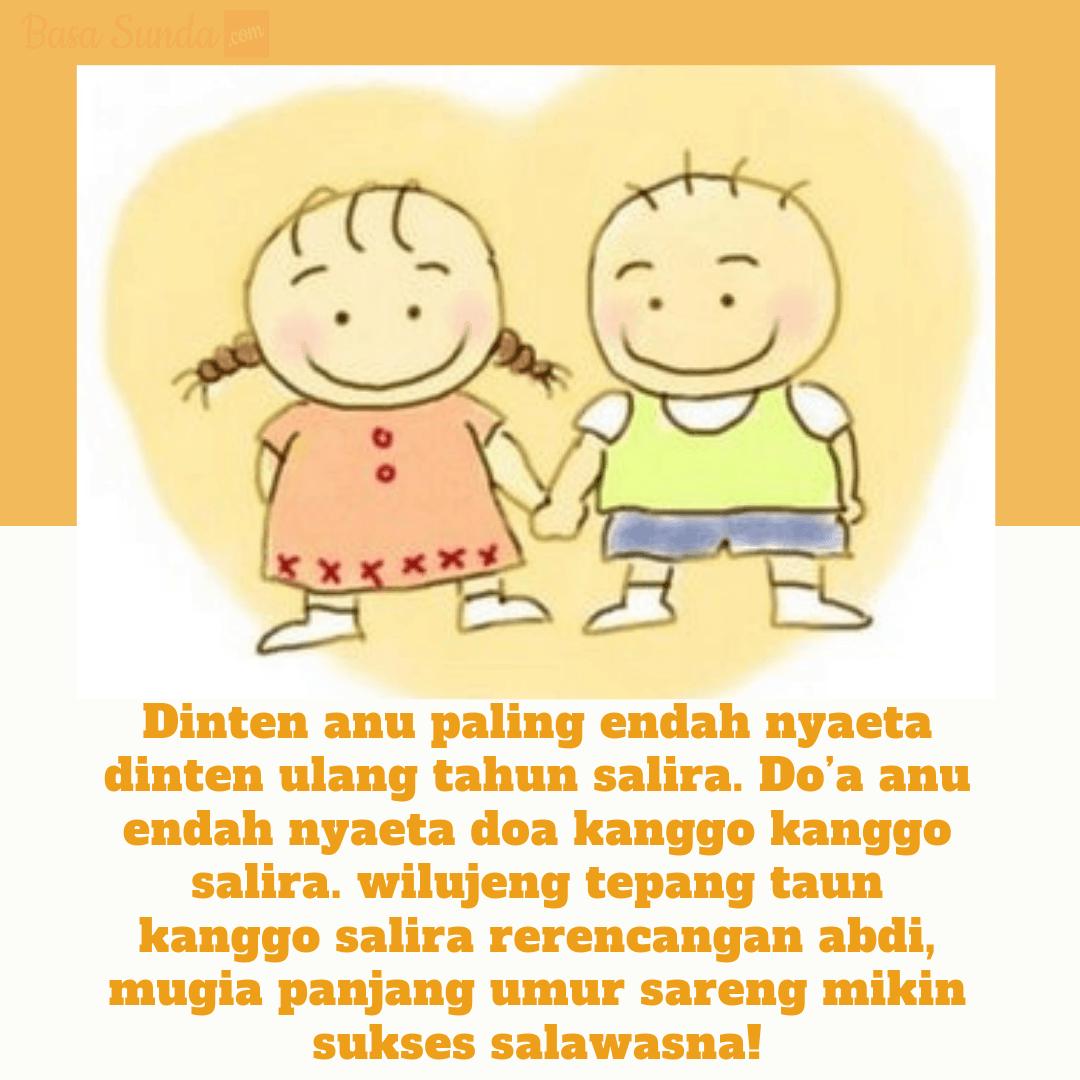 Ucapan Selamat Ulang Tahun Bahasa Sunda Untuk Ibu Anak Pacar