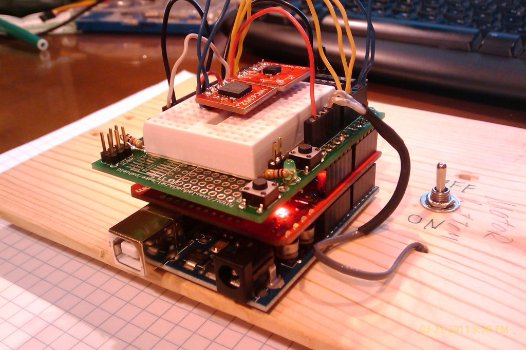 Wireless Arduino Xbee Remote Control With Compass And