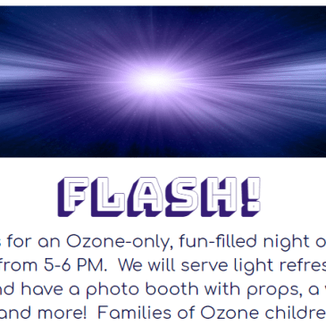 Ozone Family Photo Booth Night