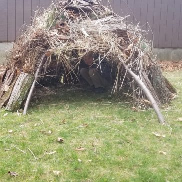 Family Fun: Fort Building!