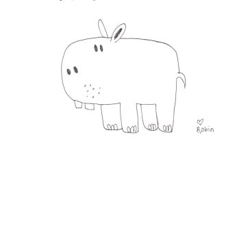 How to Draw…Hippos!