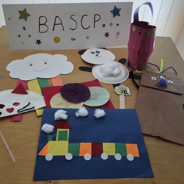 BASCP Students in K-1 Have Been Busy!