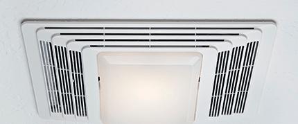 sizing bathroom exhaust fan