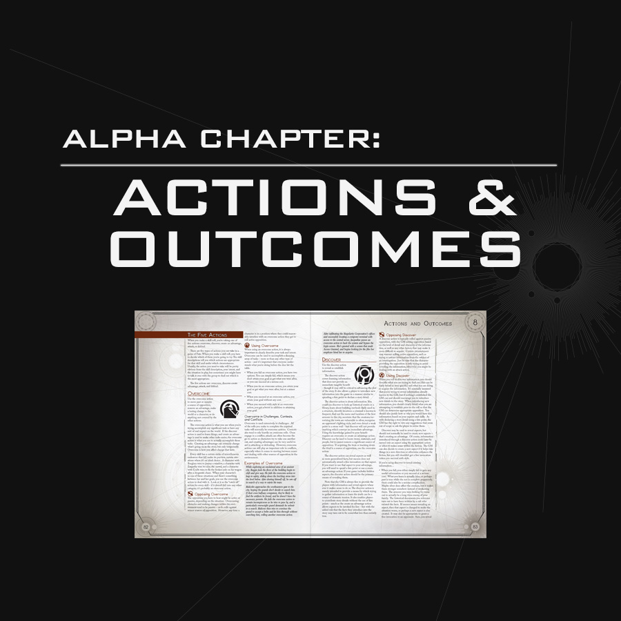 Alpha Chapter: Actions & Outcomes