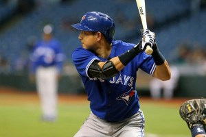 ìè@'¥/Munenori Kawasaki (Blue Jays), MAY 7, 2013 - MLB : MLB match between the Tampa Bay Rays and the Toronto Blue Jays at Tropicana Field in St. Petersburg, Florida, United States. (Photo by AFLO)