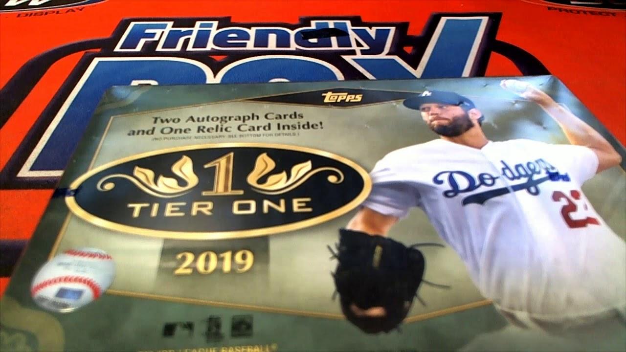 2019 Topps Tier One Baseball FILLER BREAK ID 19TIERONE914 - 2019 Topps Tier One Baseball FILLER & BREAK ID 19TIERONE914
