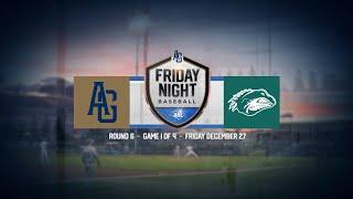 LIVE Friday Night Baseball R6 G1 Adelaide Giants v Auckland Tuatara - LIVE: Friday Night Baseball | R6 - G1 | Adelaide Giants v Auckland Tuatara