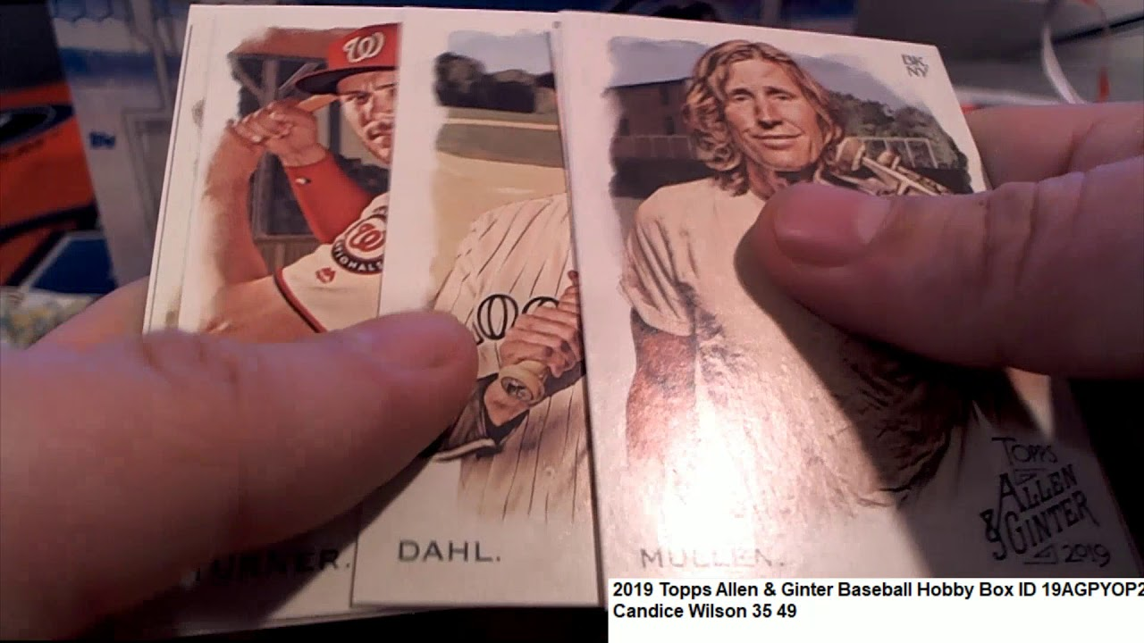 2019 Topps Allen Ginter Baseball Candices Pack ID 19AGPYOP211 - 2019 Topps Allen & Ginter Baseball Candice's Pack ID 19AGPYOP211