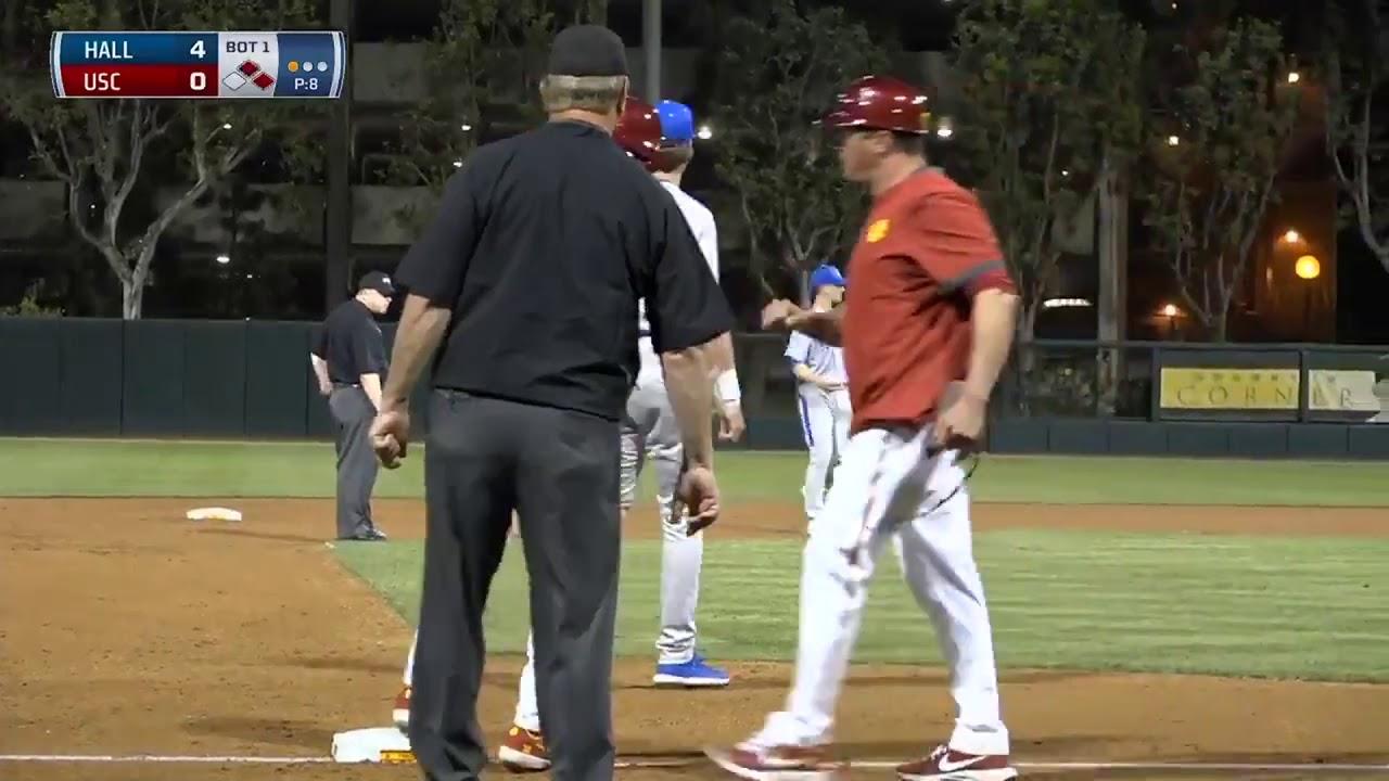 Baseball USC 3 Seton Hall 6 Highlights 022820 - Baseball: USC 3, Seton Hall 6 - Highlights 02/28/20