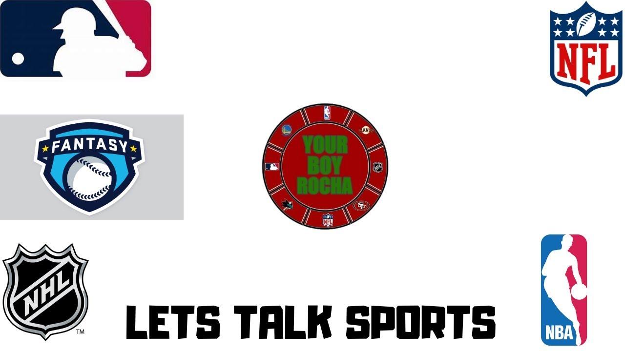 Fantasy Baseball Mock DraftLets Talk Sports EP.2 - Fantasy Baseball Mock Draft/Lets Talk Sports EP.2