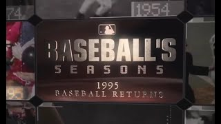 MLB Baseballs Seasons 1995 - MLB Baseball's Seasons: 1995
