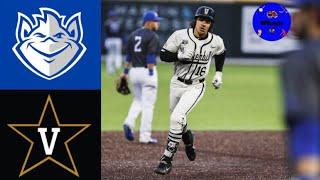 Saint Louis vs 2 Vanderbilt 2020 College Baseball Highlights - Saint Louis vs #2 Vanderbilt   2020 College Baseball Highlights