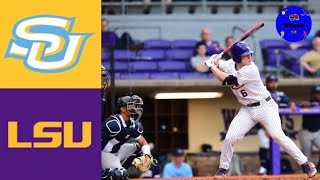 Southern vs 12 LSU 2020 College Baseball Highlights - Southern vs #12 LSU | 2020 College Baseball Highlights