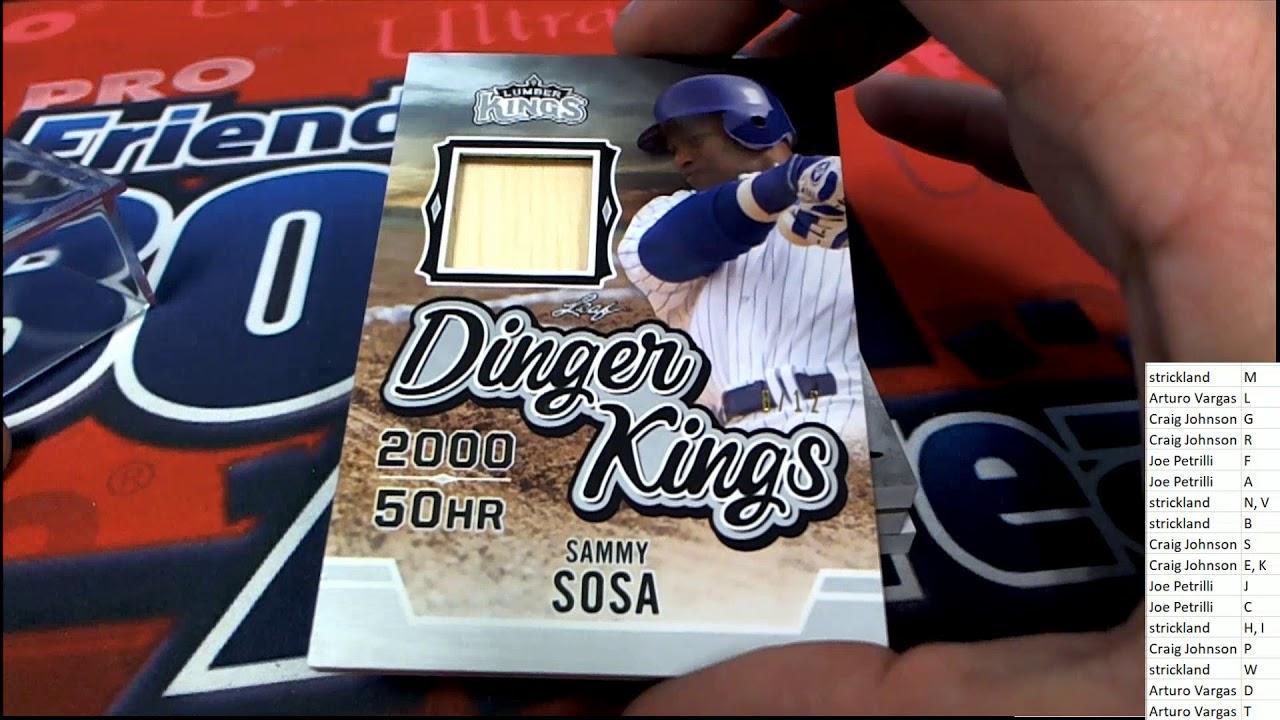 2020 Leaf Lumber Kings Baseball ID 20LUMBERKINGS136 - 2020 Leaf Lumber Kings Baseball ID 20LUMBERKINGS136