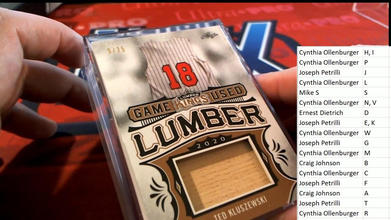 2020 Leaf Lumber Kings Baseball ID 20LUMBERKINGS183 - 2020 Leaf Lumber Kings Baseball ID 20LUMBERKINGS183