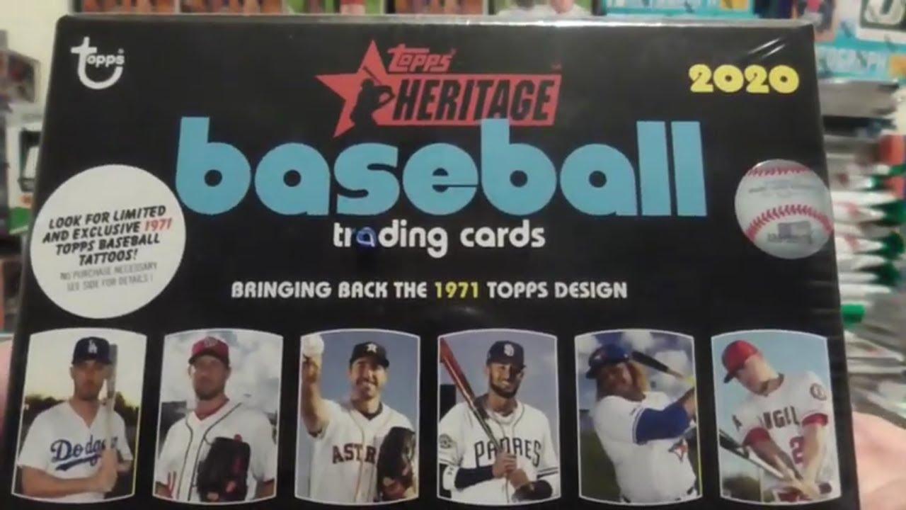 2020 Topps Heritage Baseball Blaster Box Break White Chrome SP - 2020 Topps Heritage Baseball Blaster Box Break White Chrome SP